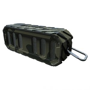 Rugged Rocker Waterproof Bluetooth Speaker-Beach Camo