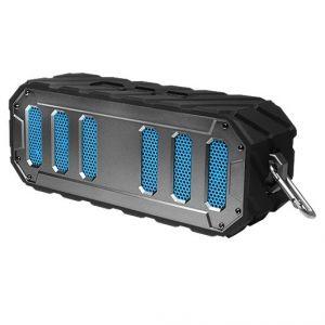 Rugged Rocker Waterproof Bluetooth Speaker-Black/Silver