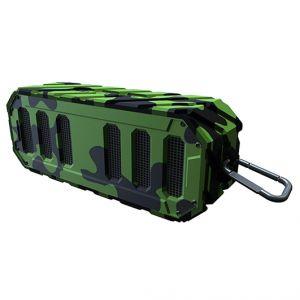 Rugged Rocker Waterproof Bluetooth Speaker-Forest Camo