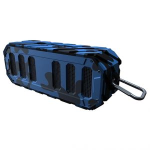 Rugged Rocker Waterproof Bluetooth Speaker-Navy Camo